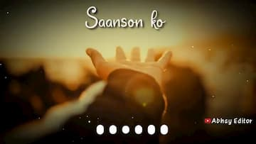 Saanson Ka Love status by Arijit Singh WhatsApp status Song Download
